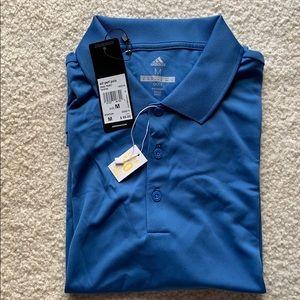 Adidas Men's Golf Performance Polo Light Blue
